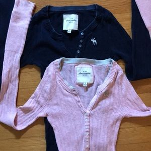 2-pack Abercrombie sweaters